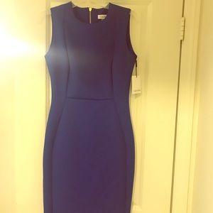 NWT Calvin Klein Women's Blue Dress